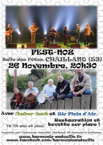 Affiche Fest-Noz - Novembre 2016